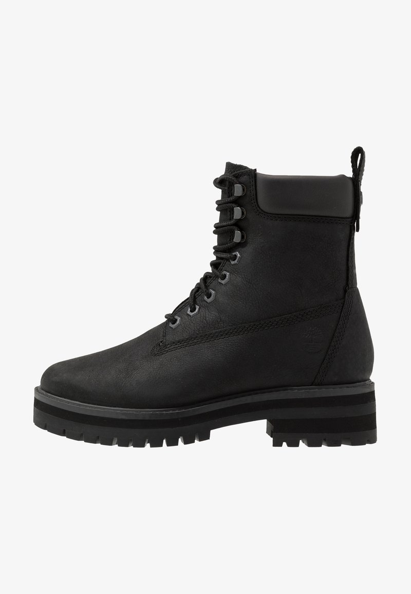 Timberland - COURMA GUY BOOT WP - Lace-up ankle boots - black