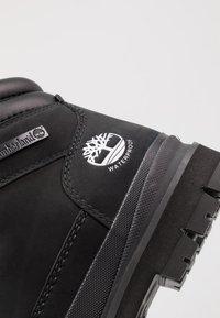 Timberland - FIELD TREKKER WP - Snørestøvletter - black - 5