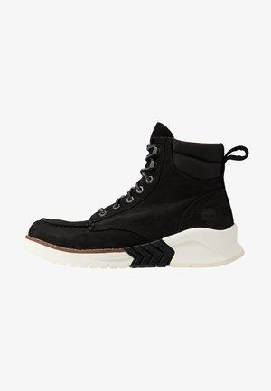 TOE BOOT - Bottines à lacets - black