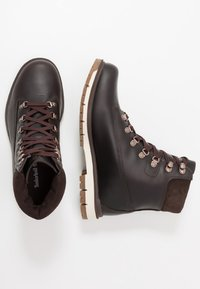 "Timberland - RADFORD 6"" D-RINGS BOOT - Lace-up ankle boots - dark brown - 1"