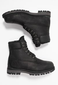 Timberland - RADFORD WARM LINED BOOT WP - Lace-up ankle boots - black - 1