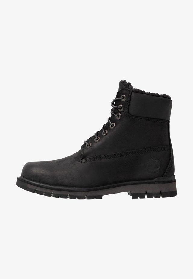 RADFORD WARM LINED BOOT WP - Snørestøvletter - black