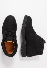 Timberland - 1973 CHUKKA WP - Lace-up ankle boots - black - 1