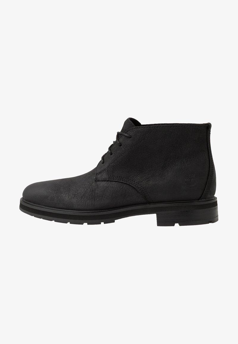 Timberland - WINDBUCKS CHUKKA WP - Lace-up ankle boots - black