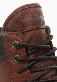Timberland - RAW TRIBE 6IN - Nauhalliset nilkkurit - brown - 5