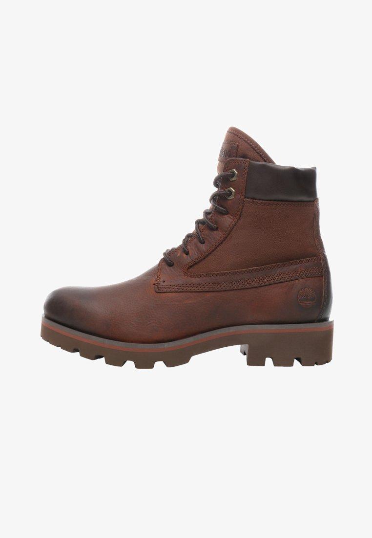 Timberland - RAW TRIBE 6IN - Nauhalliset nilkkurit - brown