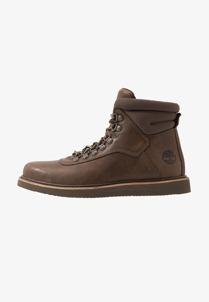 Timberland - NEWMARKET BOOT - Lace-up ankle boots - olive