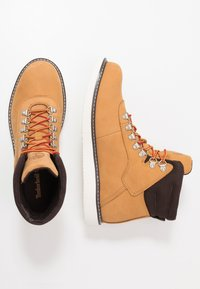 Timberland - NEWMARKET BOOT - Lace-up ankle boots - wheat - 1