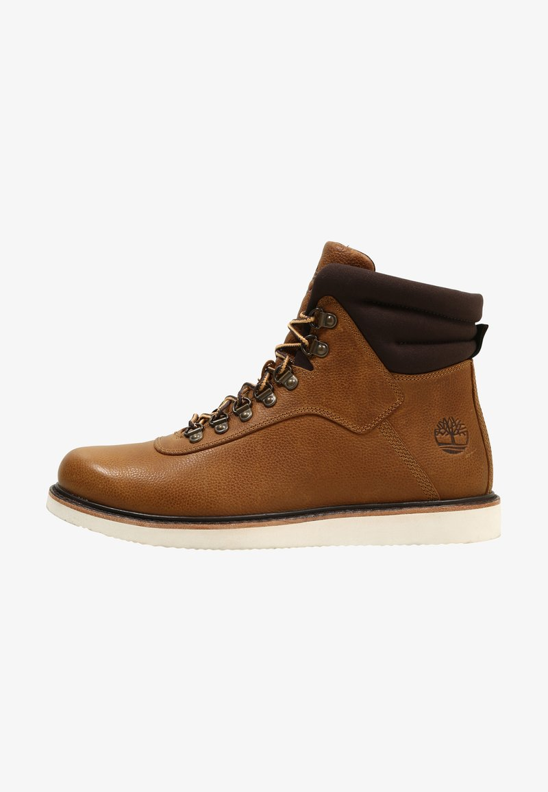 Timberland - NEWMARKET BOOT - Lace-up ankle boots - mottled brown