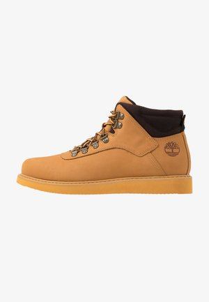 NEWMARKET LOW BOOT - Snörstövletter - wheat