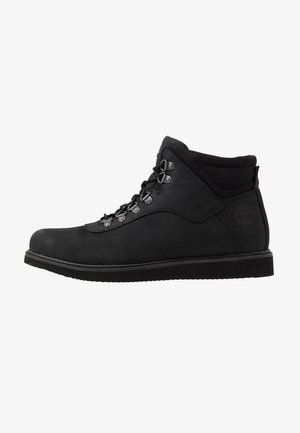 NEWMARKET LOW BOOT - Stivaletti stringati - black