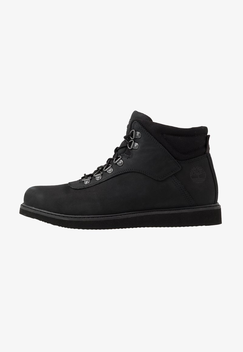 Timberland - NEWMARKET LOW BOOT - Lace-up ankle boots - black