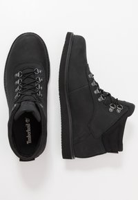 Timberland - NEWMARKET LOW BOOT - Lace-up ankle boots - black - 1