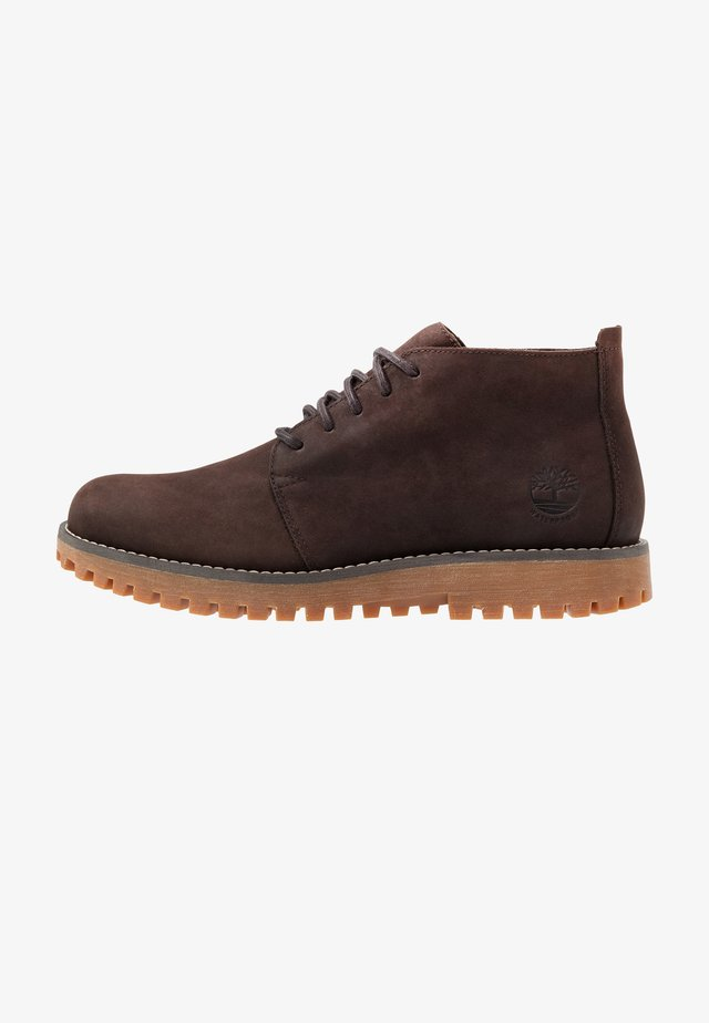 JACKSON'S LANDING - Lace-up ankle boots - dark brown