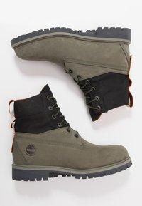 Timberland - PREMIUM - Šněrovací kotníkové boty - dark green - 1