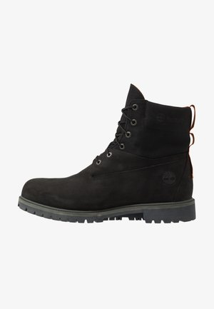 PREMIUM - Bottines à lacets - black
