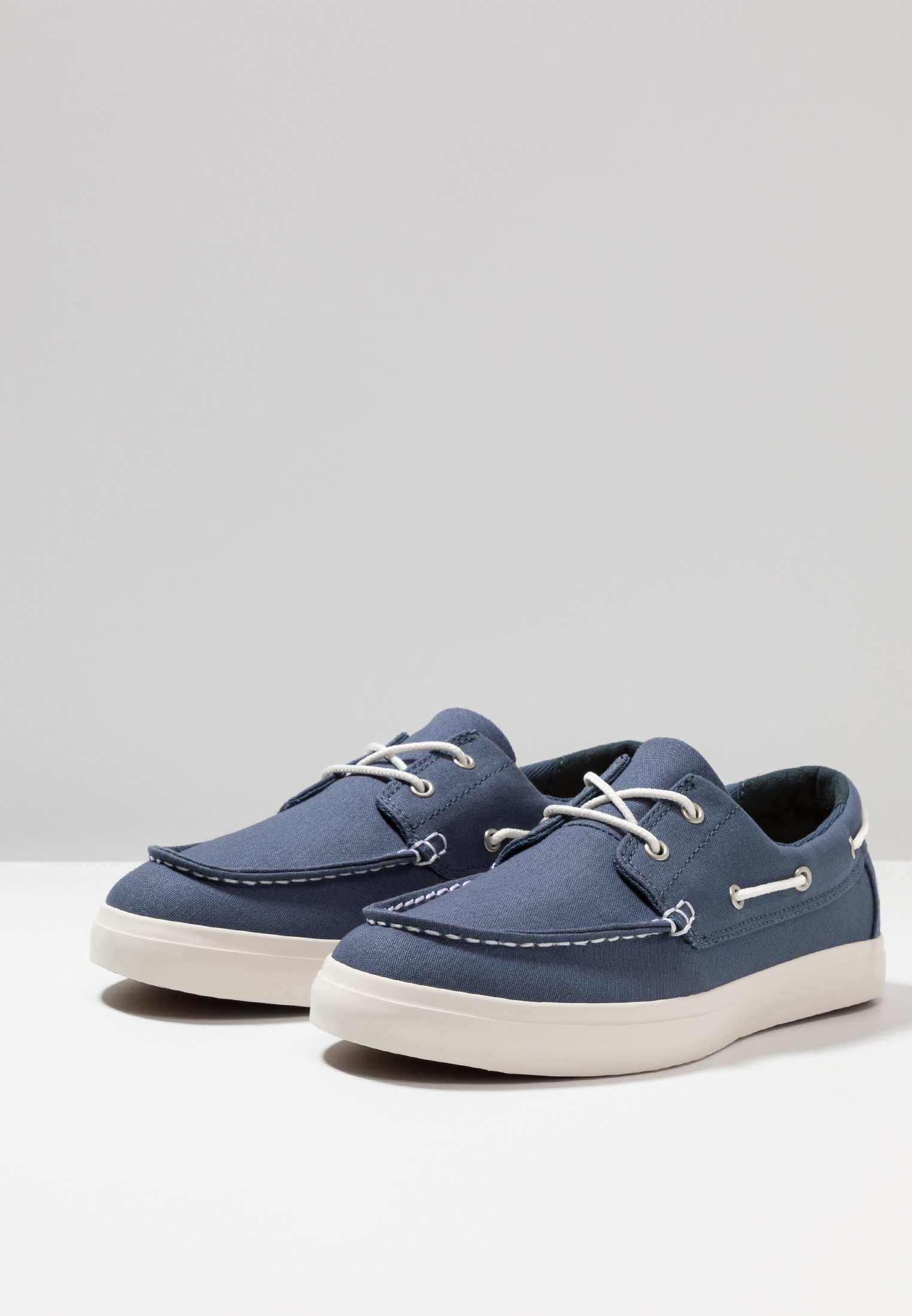 Timberland UNION WHARF 2 EYE - Buty żeglarskie - dark blue