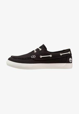 UNION WHARF 2 EYE - Chaussures bateau - black