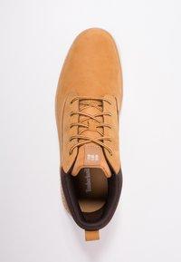 Timberland - CROSS MARK PT CHUKKA - Sneakersy niskie - wheat - 1