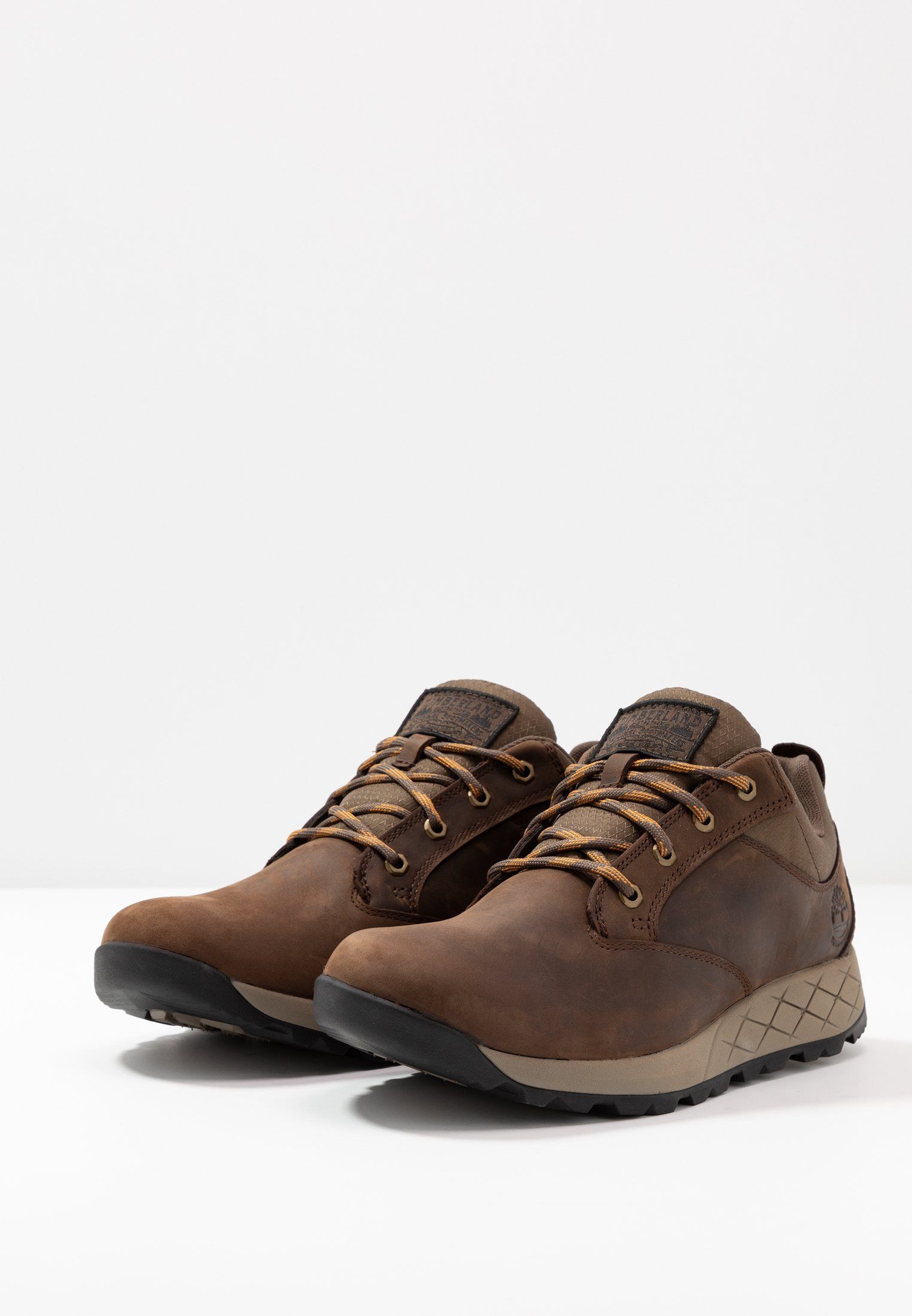 Timberland Tuckerman Low Wp - Zapatos Con Cordones Dark Brown