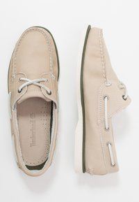 Timberland - CLASSIC BOAT - Náuticos - light taupe - 1