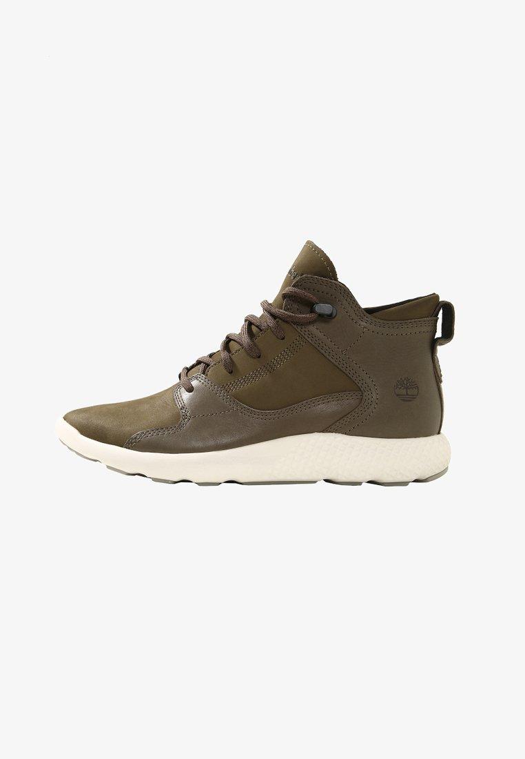 Timberland - FLYROAM HIKER - Sneaker high - olive
