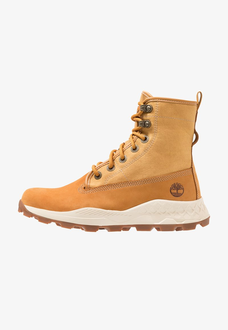 Brooklyn À BootBottines Timberland Wheat Lacets 9IEDH2W