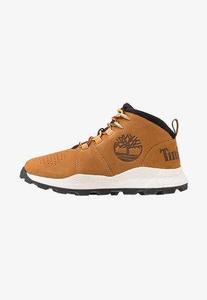 BROOKLYN CITY MID - Høye joggesko - light brown