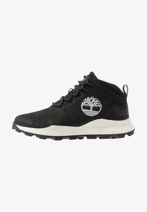 BROOKLYN CITY MID - Sneakers hoog - black