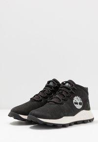Timberland - BROOKLYN CITY MID - Zapatillas altas - black - 2