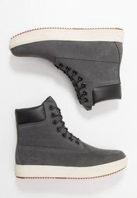 Timberland - CITYROAM CUPSOLE 6 IN WP - Lace-up ankle boots - dark grey - 1