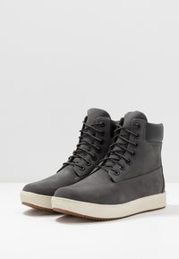 Timberland - CITYROAM CUPSOLE 6 IN WP - Lace-up ankle boots - dark grey - 2