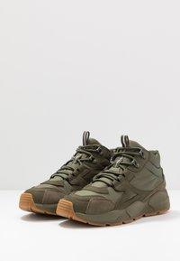 Timberland - RIPCORD MID HIKER  - Höga sneakers - dark green - 2