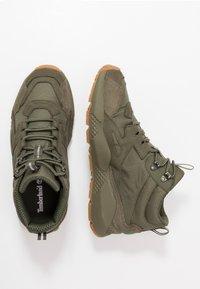 Timberland - RIPCORD MID HIKER  - Höga sneakers - dark green - 1