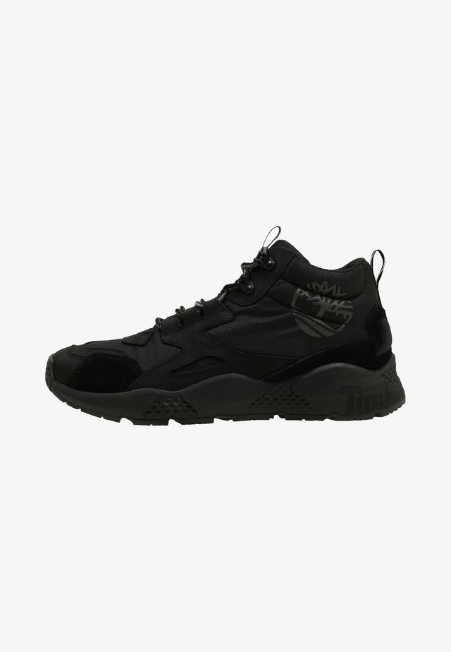 RIPCORD MID HIKER  - Höga sneakers - black