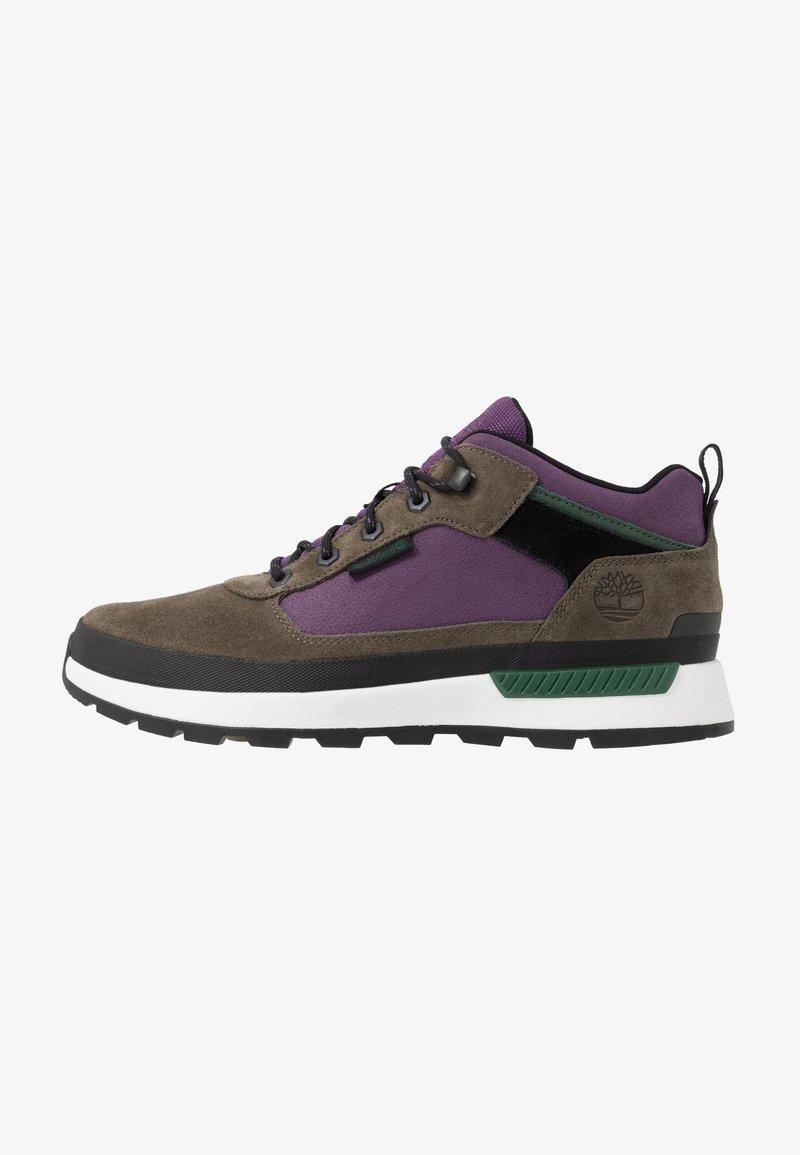 Timberland - FIELD TREKKER - Sneaker high - canteen