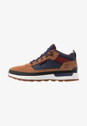FIELD TREKKER - Sneakers hoog - medium brown