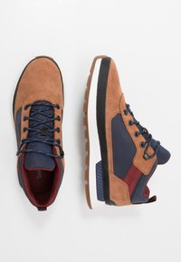Timberland - FIELD TREKKER - High-top trainers - medium brown - 1