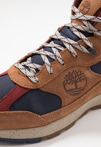 Timberland - FIELD TREKKER - Höga sneakers - medium brown - 5