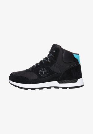 FIELD TREKKER - Sneaker high - jet black