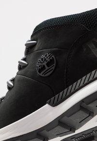 Timberland - SPRINT TREKKER - High-top trainers - black - 5