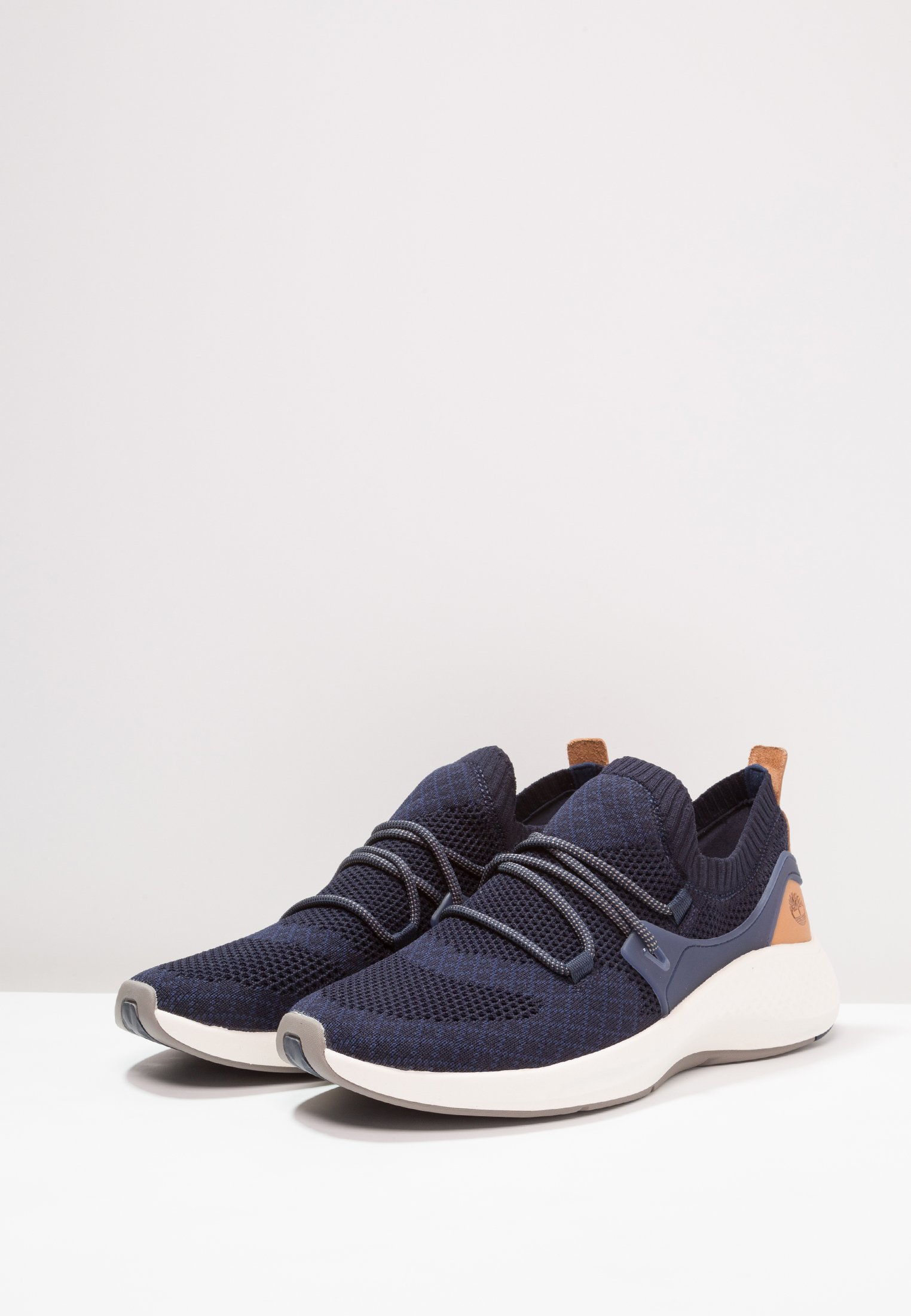 Timberland Flyroam Go Knit Oxford - Baskets Basses Black Iris