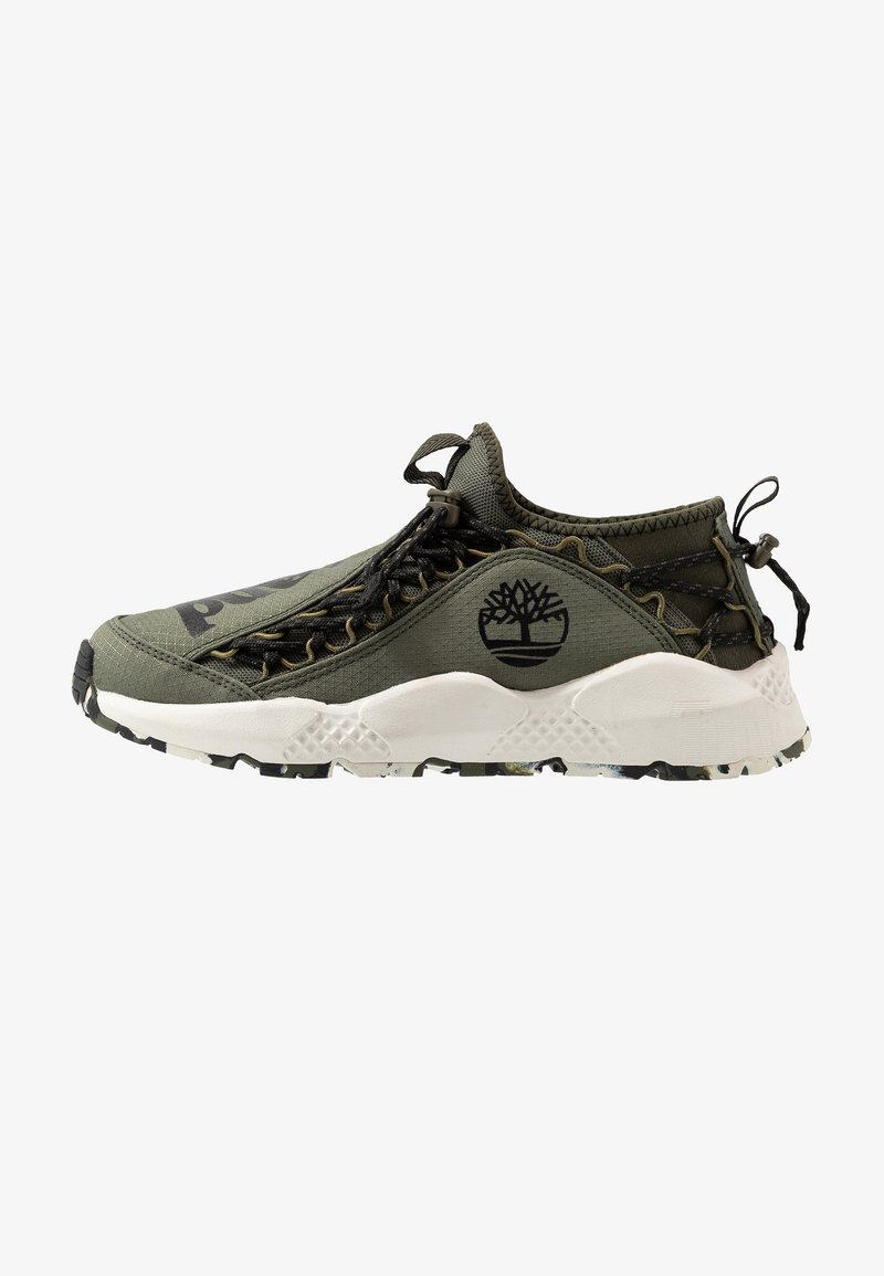 Timberland - RIPCORD FABRIC - Zapatillas - dark green