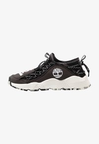 Timberland - RIPCORD FABRIC - Baskets basses - black - 0