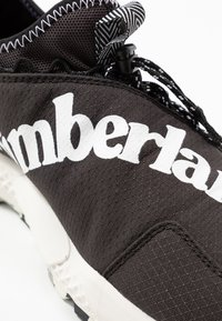 Timberland - RIPCORD FABRIC - Baskets basses - black - 5