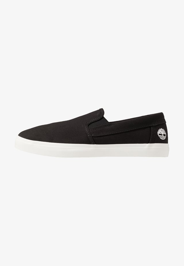 UNION WHARF - Slip-ons - black canvas