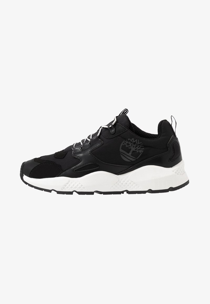 Timberland - RIPCORD LOW SNEAKER - Trainers - black/white