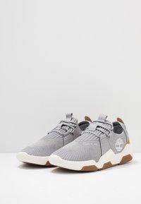 Timberland - EARTH RALLY - Sneakersy niskie - medium grey - 2
