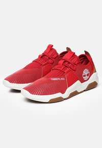 Timberland - EARTH RALLY - Trainers - medium red - 2