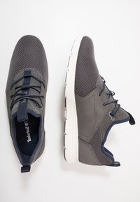 Timberland - KILLINGTON - Matalavartiset tennarit - medium grey - 1